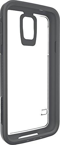 Otterbox My Symmetry transparente Schutzhülle inkl. austauschbarem Inlay für Samsung Galaxy S5, grau