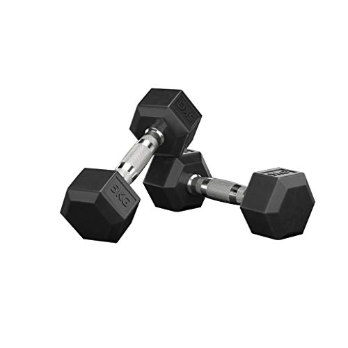 WYH Pesas Pesas sólidos Pesos-Antideslizante Pesas Conjunto Ejercicio de la Pesa de Gimnasia casera Equipo Ejercicios de Entrenamiento Musculación (Peso : 35Kg(17.5Kg*2))