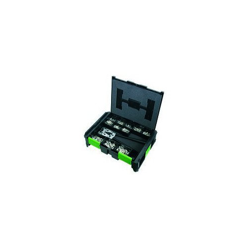 Haupa 220385 - Juego terminal cable din46235 alicate (caja 380u)