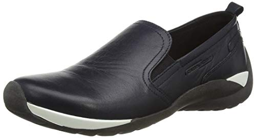 camel active Damen Moonlight Slipper, Blau (Midnight 01), 39 EU