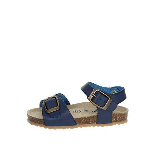 GRUNLAND Sandalo Bambino Blu Sb1551-l5