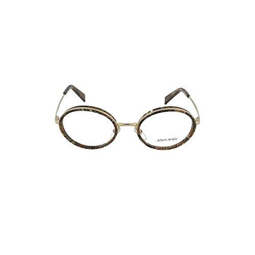 Alain Mikli GRENETTE 0A02026 PALMIER CHOCOLAT 50/20/140 Damen Brillen