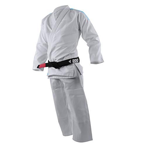 adidas Kimono Brazilian Jiu Jitsu JJ250 Rookie Blanco BJJ Adulto y Niño Uniforme Completo, M3