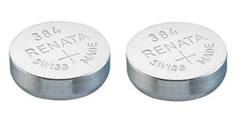 Uhrenbatterie Renata Swiss made Renata 384 oder SR41SW oder AG3 1,5V (2 x 384 oder SR 41 SW)