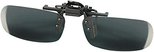 Speeron Aufsteck Sonnenbrille: Sonnenbrillen-Clip Slim für Brillenträger, polarisiert (Brillenaufsatz Sonnenschutz)