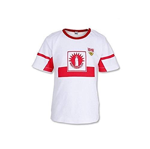 GOTS VfB Stuttgart Baby T-Shirt Muttermilch in 4 Größen verfügbar (62/68 - 98/104) VfB Fairplay Fairtrade! (86/92)