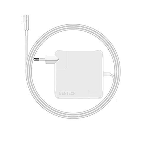 """BENTECH, Cargador Compatible con macbook Pro 60w; Alimentación magsafe, Adaptador PC Portátil A1181 A1184 A1278 A1342 A1344 Apple Macbook Pro 13\"""""""