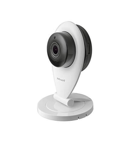 Trust Irus Überwachungskamera WLAN IP Kamera (mit Nachtsicht, Personendetektion und 2 Wege Audio)