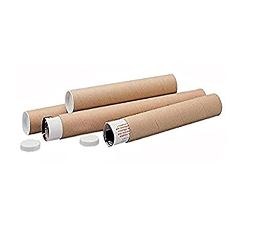 LSM 220401 720 x 100 mm Postal Tube - Brown (Pack of 5)