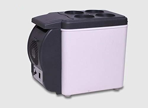 DRGRG Frigorifero Portatile Montato su Auto con Funzione di Riscaldamento di refrigerazione Mini Frigorifero per Auto Accessori per Auto