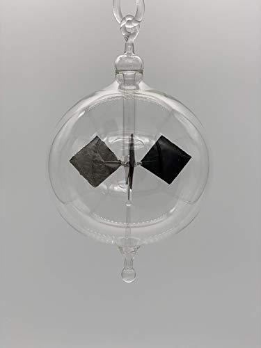 Lichtmühle Radiometer Transparent Glas Handarbeit