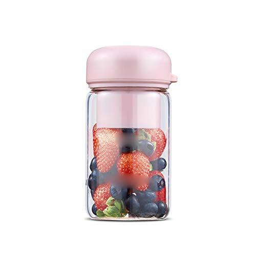 YWSZJ Exprimidor portátil de casa Estudiante de Frutas Dormitorio pequeño Recargable Mini exprimidor exprimidor Copa Fried
