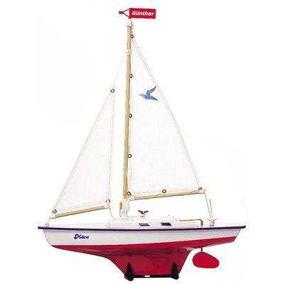Paul Günther 1804 - Segelboot Möve, ca. 39 x 50 cm