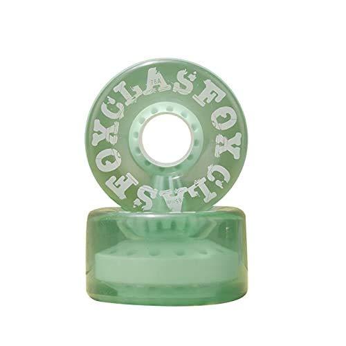 STD Fox CLAS, 65X35 MM. 78A, Ruedas para Speed/Street/Derby 4(Pack) (Green)