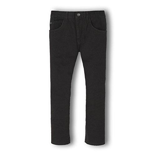 The Children's Place Little Boys' Skinny Jean, Black, 5