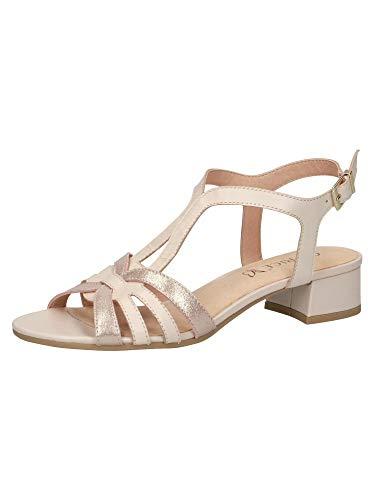 CAPRICE Damen Sandalette 9-9-28201-26 419 G-Weite Größe: 39 EU