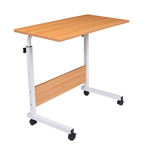 Tivivose Portátil Table Stand portátil Multiuso Escritorio de la computadora Deflector Lateral extraíble Mesa de Muebles for el hogar/Sitio de la Oficina (Color : D)