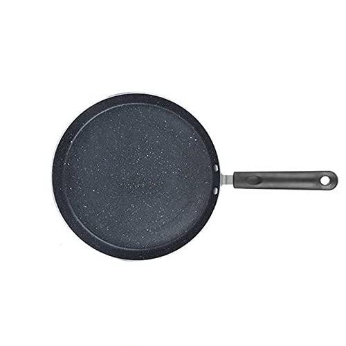 MJJCY Caja de freír sin Palo Cocina de inducción de la Cocina de la Cocina Antideslizante Herramienta de cocción Antiadherente para el Desayuno panqueque Huevo Pizza Pan Utensilios de Cocina