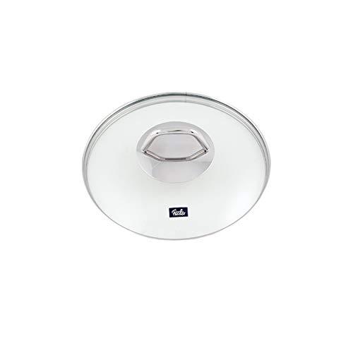 Fissler Black Edition Glasdeckel zu Kochtopf, Deckel, Ersatzteil, Zubehör, Glas, für Töpfe mit Ø 16 cm, 5911816610
