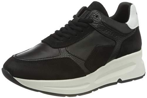 Marc O'Polo Damen 00715663501159 Sneaker, 991 Black Combi, 37 EU