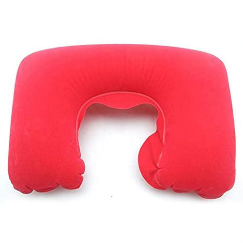 JHGJHG Coche Suave Inflable Cuello Almohada Resto cojín Almohadas Auto Coche Coche Accesorios (Color : 1pcs)