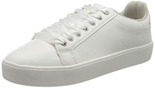 Tamaris Damen 1-1-23724-24 Sneaker, Weiß (White 100), 38 EU