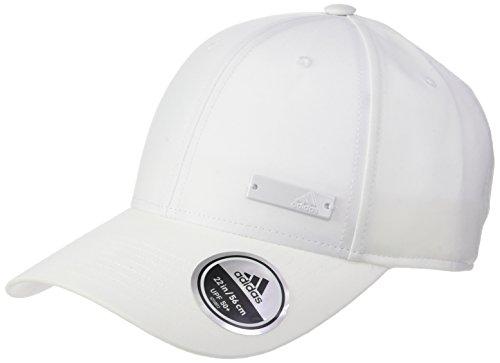 adidas 6P Ltwgt Met Gorra, Mujer, Blanco (White/Black), Talla única