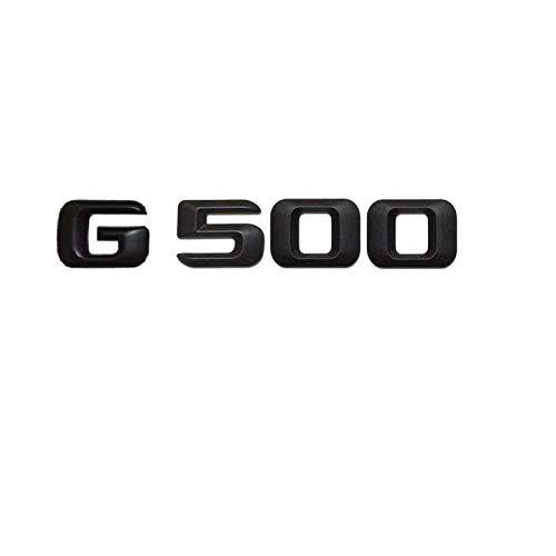 OceanAutos Für Mercedes Benz G Klasse G500, Matt Schwarz G 500' Kofferraum Heckbuchstaben Wörter Nummer Abzeichen...