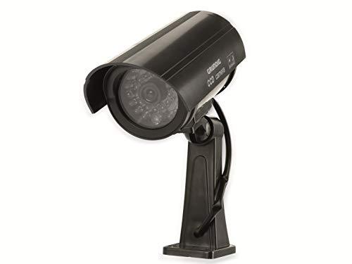 Grundig CCD LED Überwachungskamera Attrappe Kamera Dummy Camera Alarmanlage Kabellos