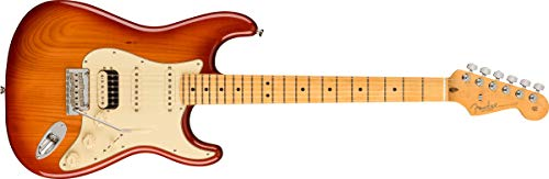 Fender エレキギター American Professional II Stratocaster® HSS, Maple Fingerboard, Sienna Sunburst