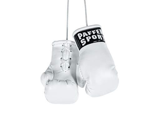 Paffen Sport «Colour» Mini Boxhandschuhe, Anhänger fürs Auto, weiß