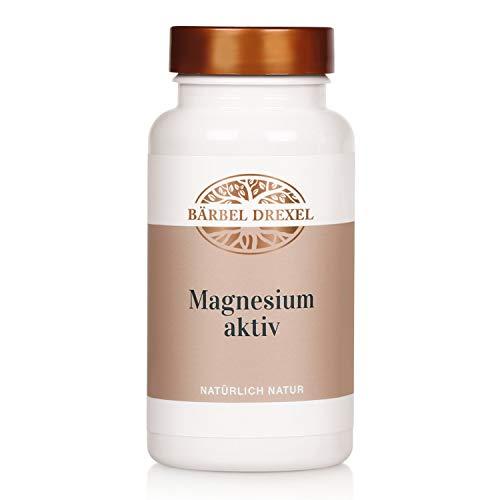 BÄRBEL DREXEL® Magnesium Aktiv Presslinge, Premium Magnesiumcarbonat Hochdosiert (200 Stk) 100% Vegane Herstellung Deutschland Muskelunterstützung & Nervensystem