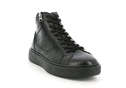 Zapatillas Altas Nero Giardini I102221U 100 Negras para Hombre: