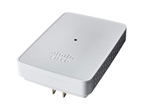 Cisco Business 142ACM Wi-Fi Mesh Extender | 802.11ac | 2x2 | Wall Outlet | Limited Lifetime Protection (CBW142ACM-B-NA) | Requires Cisco Business Wireless Access Points