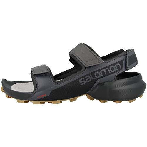Salomon Herren Shoes Speedcross Sandalen, Schwarz (Magnet/Schwarz/Schwarz), 45 1/3 EU