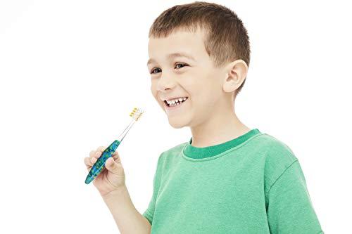 OOAK Kids Toothbrush, Tapered V++Max Soft Bristles, 2 Pack - Dinosaur