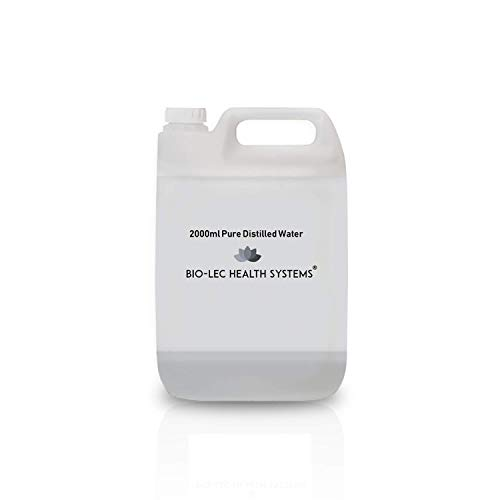 (2000ml (2l)) Agua destilada a vapor lento y 100% puro de varios...