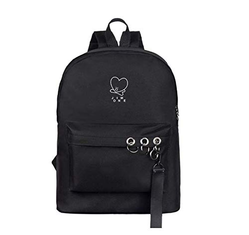 BTS Bulletproof Youth School Bag Support Men and Women Korean Version of The Backpack S61-8T Laptop Backpack