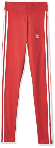 adidas Damen 3 Str Tight, rot (lush red/White), 34