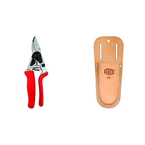 FELCO Model 12 Secateurs (Medium) & Model 910 Leather Holster
