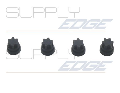 Rubber Foot Replacements for Thermador 00618112 AP4570139 4 Pack