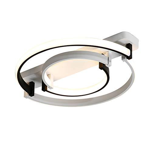 Simple Moderne Plafonnier LED Salon Plafonnier Creative Personnalité Chambre Principale Lampe Chaude Étude Creative Cuisine Lampe (Color : Stepless dimming)