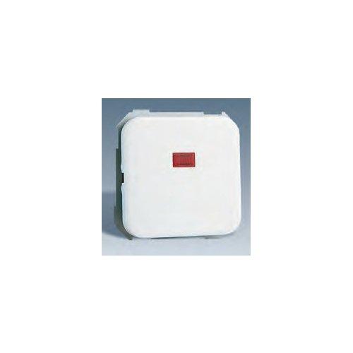 Simon - 31102-30 interruptor unipolar con piloto s-31 bl nieve Ref. 6553130004