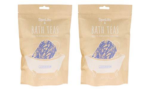 SpaLife Naturally Infused Bath Tea (Lavender (6 Pack))