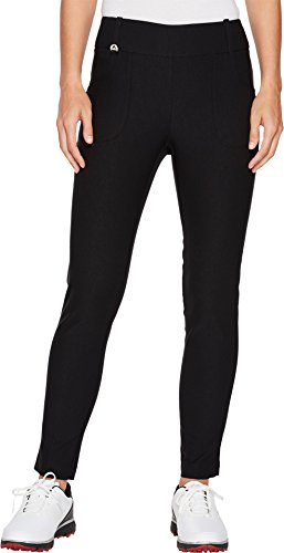 Callaway Women's Stretch Tech Pull-on Golf Trouser, Caviar, X-Small with 29