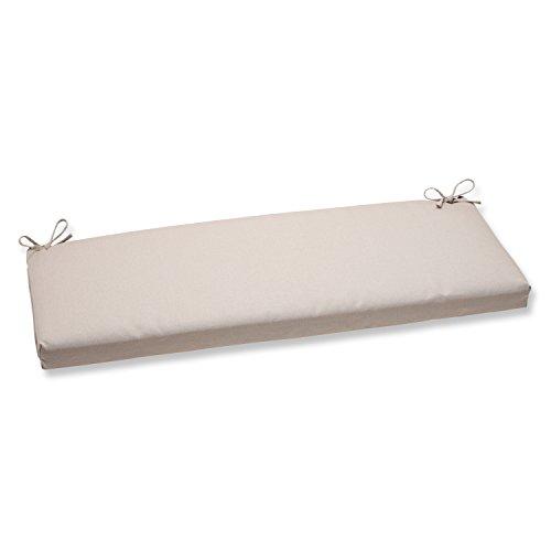 Pillow Perfect Outdoor/Indoor Solar Linen Bench/Swing Cushion, 45
