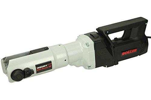 Roller 572111 A220 Pressmaschine/Elektro Radialpresse | mit Sichtkontrolle, Überlastschutz und Sicherheitstippschalter | Universalmotor 450 W, für Radial-Pressverbindungen Ø 10–108 (110) mm, 230 V