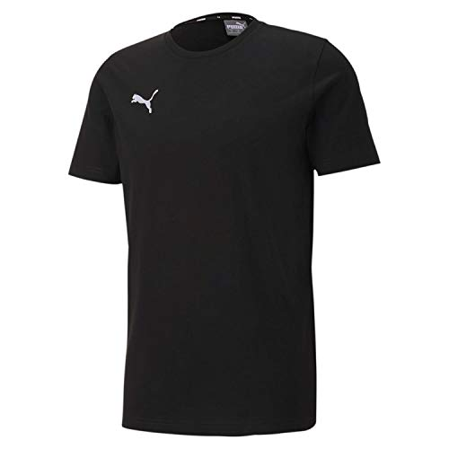 PUMA Herren, teamGOAL 23 Casuals Tee T-shirt, Schwarz, M