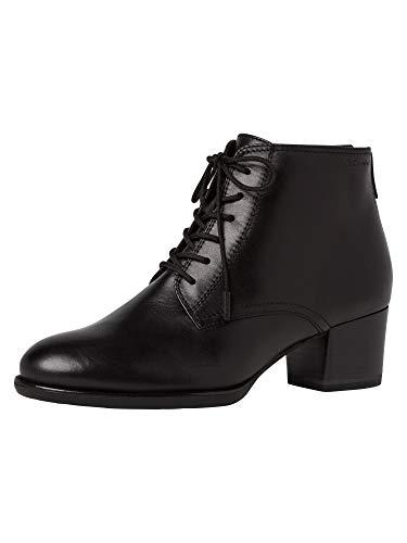 Tamaris Damen Stiefeletten, Frauen Ankle Boots, knöchelhoch reißverschluss weiblich Lady Ladies Women's Women Woman Business,Black,39 EU / 5.5 UK