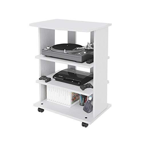 Carrello porta Tv bianco Cm 60x40xH 80,5